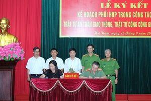 Hà Nam phối hợp đảm bảo trật tự an toàn giao thông, trật tự công cộng