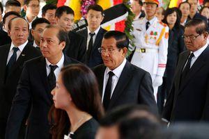 Thủ tướng Hun Sen đến viếng người bạn cũ - Chủ tịch nước Trần Đại Quang