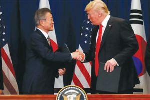Cột mốc trong quan hệ Mỹ - Hàn