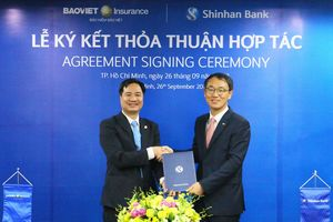 Ngân hàng Shinhan bán sản phẩm bảo hiểm Bảo Việt