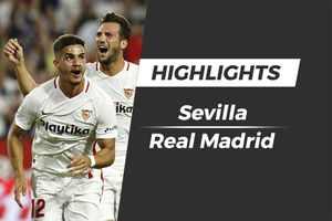 Highlights Real Madrid thảm bại trước Sevilla