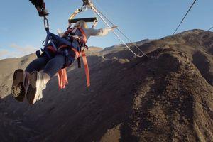 Đu dây với tốc độ 100 km/h ở độ cao 150 mét ở New Zealand