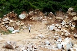 Xử lý dứt điểm tình trạng khai thác khoáng sản trái phép ở thị xã Phú Mỹ