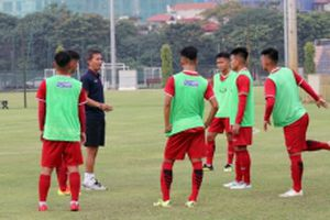 Tuyển Việt Nam gấp rút chuẩn bị cho Vòng chung kết U19 châu Á