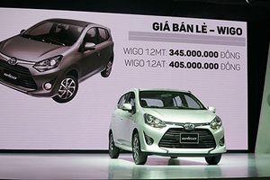 Wigo giá từ 345 triệu, xe rẻ nhất của Toyota Việt Nam