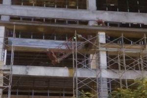 Dự án Công ty Sao Mai rơi thanh sắt làm chết người