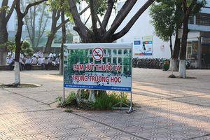 Xây dựng môi trường học đường không khói thuốc lá