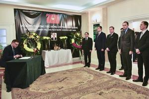 Lễ viếng Chủ tịch nước Trần Đại Quang tại Ba Lan