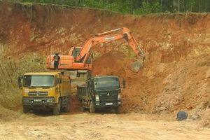 Phát hiện nhiều sai phạm trong khai thác tài nguyên ở Bắc Giang