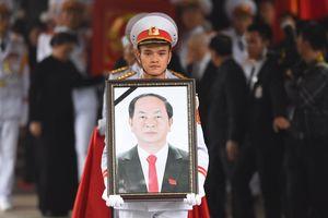 Lễ truy điệu cố Chủ tịch nước Trần Đại Quang