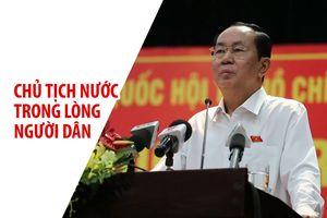 Chủ tịch nước Trần Đại Quang trong lòng người dân TP.HCM