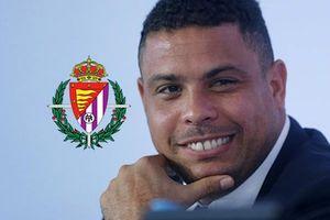 Ông chủ tịch Ronaldo chinh phục châu Âu cùng...Valladolid