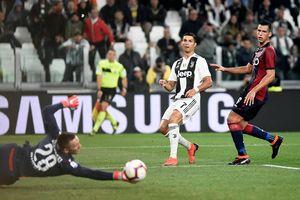 Ronaldo đứt mạch ghi bàn, Juventus vẫn thắng dễ