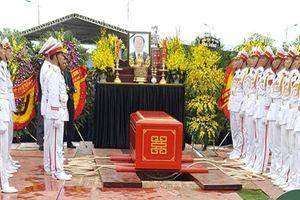 Lễ an táng cố Chủ tịch nước Trần Đại Quang tại quê nhà