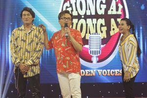 Cát Phượng - Kiều Minh Tuấn vui vẻ tung hứng tại 'Giọng ải giọng ai'