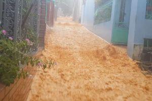 Dân khốn khổ, bất an vì 'lũ bùn' đổ xuống từ dự án Monaco