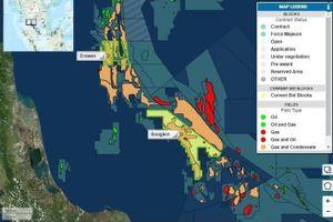 Chevron, PTTEP cạnh tranh trong phiên đấu giá dầu mỏ của Thái Lan