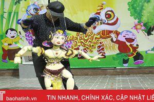 Người giữ nghề múa rối ở Hà Tĩnh