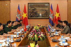 Đẩy mạnh hợp tác giữa phụ nữ quân đội Việt Nam và Campuchia