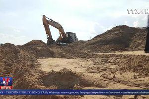 Phớt lờ lệnh cấm, doanh nghiệp vẫn ngang nhiên khai thác cát trái phép
