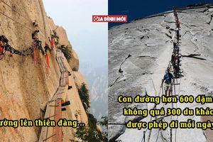 16 cầu thang có thể khiến bất cứ ai trở nên bồn chồn, là lên thiên đàng hay xuống địa ngục