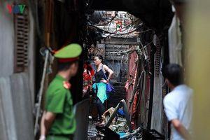 Khởi tố vụ án cháy nhà trọ gần Bệnh viện Nhi Trung ương khiến 2 người tử vong