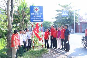 Hội Chữ thập đỏ thành phố Hải Phòng ra mắt 5 điểm sơ cấp cứu chữ thập đỏ