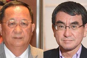 Ngoại trưởng Nhật Bản và Triều Tiên hội đàm lần đầu sau 3 năm