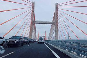 Dự kiến thu phí cầu Bạch Đằng trên tuyến cao tốc Hạ Long-Hải Phòng từ ngày 1/10