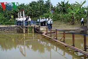 Đà Nẵng khẩn trương nghiên cứu, xây dựng đập ngăn mặn trên sông Cầu Đỏ