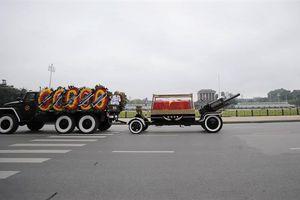 Lễ truy điệu và đưa tiễn Chủ tịch nước Trần Đại Quang về quê nhà