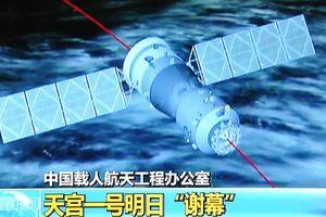 Năm 2019 tàu vũ trụ Trung Quốc sẽ rơi xuống Trái Đất