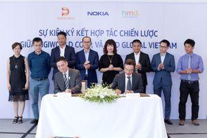 Digiworld hợp tác chiến lược với Nokia