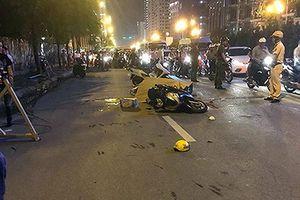 Hà Nội: Khởi tố điều tra vụ thanh sắt rơi xuống đường khiến 1 phụ nữ tử vong