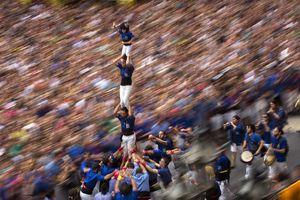 Ấn tượng với lễ hội xây 'tháp người' La Merce ở Barcelona