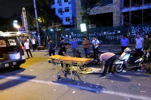 Ai chịu trách nhiệm vụ khung sắt công trình đè chết cô gái đi đường?