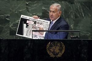 Israel chỉ điểm kho hạt nhân bí mật của Iran trước Đại hội đồng Liên Hợp Quốc