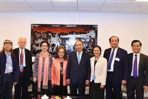 Thủ tướng gặp kiều bào và các bạn Mỹ của Việt Nam