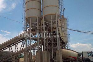 Hai trạm trộn bê tông trái phép trong nhà máy nghìn tỷ của Vinashin