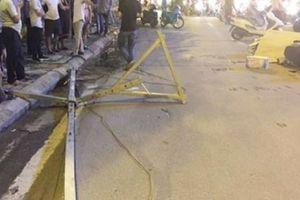 Khởi tố điều tra vụ thanh sắt rơi xuống đường, 1 cô gái tử vong