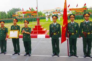 Sư đoàn 309 đón nhận Huân chương Bảo vệ Tổ quốc hạng Ba