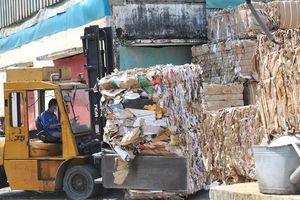 Siết nhập khẩu phế liệu: Ngành giấy bao bì lao đao