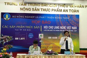 Hội chợ cho các sản phẩm của làng nghề Việt Nam