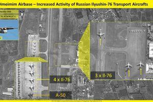 Ảnh vệ tinh tiết lộ Nga tăng cường lượng máy bay lớn tại Syria