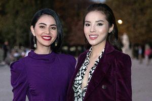 Kỳ Duyên 'dát' hàng hiệu từ đầu đến chân đọ dáng với 'ma nữ' Thái Lan