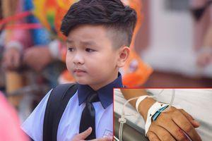 Diễn viên nhí Hữu Khang nhập viện vì bị anti-fan nhắn tin chê bai