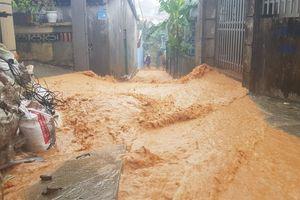 Toàn cảnh 'lũ bùn' từ dự án Monaco đổ xuống khu dân cư