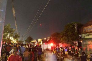 Vụ cháy tại huyện Hoài Đức thiêu rụi 500m2 nhà tạm