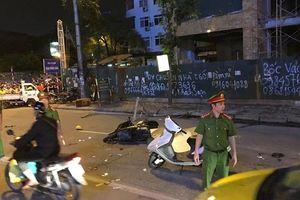 Điều tra làm rõ việc khung sắt rơi khiến một người tử vong trên đường Lê Văn Lương