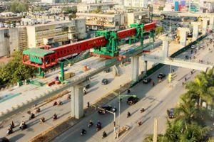 Tốc độ tàu metro tuyến Nhổn – ga Hà Nội là 38 km/h